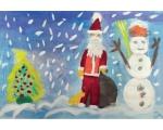 """Jõulukaart """"Jõuluvana"""""""