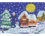 "Jõulukaart ""Jõulumaa"" suurem formaat (A5)"