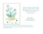 """Emadepäeva e-kaart """"Sinililled"""""""