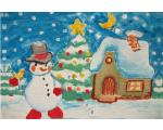 """Kaart """"Öine lumememm"""""""