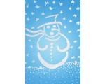 """Kaart """"Sinine lumememm"""""""